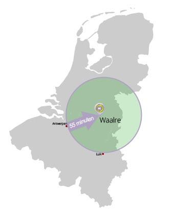 Locatie-plattegrond